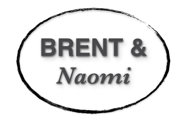 The BRENT & Naomi blog